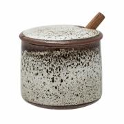 Bloomingville - Jolie Jar Zuckerdose mit Deckel und Löffel