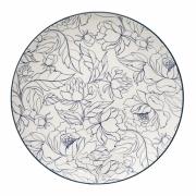 Bloomingville - Fleur Plate Teller