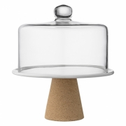 Bloomingville - Cakestand Tortenplatte & Glashaube