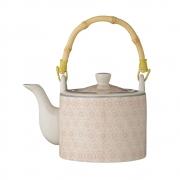 Bloomingville - Cecile Teapot Teekanne Rosa/Grau