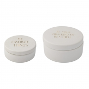 Bloomingville - Jar with Lid 21 Set