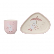 Bloomingville - Bunny Cup & Plate