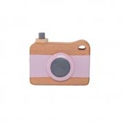 Bloomingville - Toy Kamera Holzspieglzeug Rosa