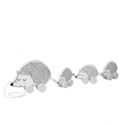 Bloomingville - Pull Along Hedgehog Family Ziehtier