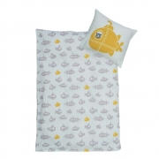 Bloomingville - Jonah Baby Linen Danish (70x100cm/45x40cm)