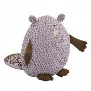 Bloomingville - Knitted Beaver Kuscheltier