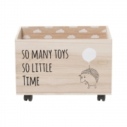 Bloomingville - Child Storage Box with Wheels 5