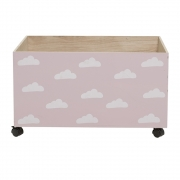 Bloomingville - Child Storage Box 6 Spielzeugkiste mit Rollen