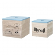Bloomingville - Child Storage Boxes 2 Aufbewahrungsboxen