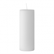 Bloomingville - Candle White Kerze 20cm