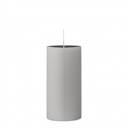 Bloomingville - Candle Lightgrey Kerze 15cm