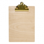 Bloomingville - Clipboard Klemmbrett Gold