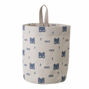 Bloomingville - Storage Bag Nature Cotton Blue