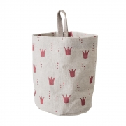 Bloomingville - Storage Bag Nature Cotton Red