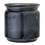 Bloomingville - Flowerpot Blue Stoneware V2