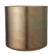 Bloomingville - Blumentopf Gold Aluminium V2