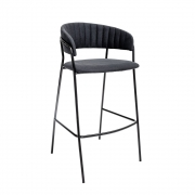 Bloomingville - Form Tabouret de bar Noir
