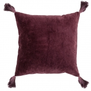 Bloomingville - Coussin Coton V1 Rouge