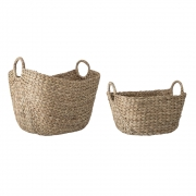 Bloomingville - Basket Nature Water hyacinth (Set of 2)