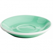 Acme Cups - Saucer 11.5cm (Set of 6) Green