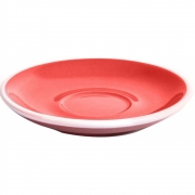 Acme Cups - Saucer 15.5cm (Set of 6) Red