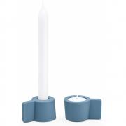 Puik - Silly Kerzenhalter 2er Set Blau