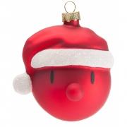 Hoptimist - Santa Weihnachtskugeln (2er Set)