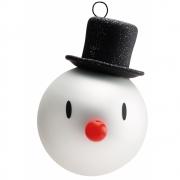 Hoptimist - Snowman Weihnachtskugeln (2er Set)