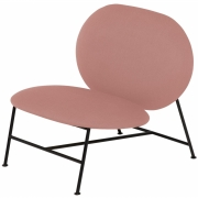 Northern - Oblong Lounge Chair Pink