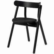 Northern - Chaise avec rembourrage de l'assise Oaki