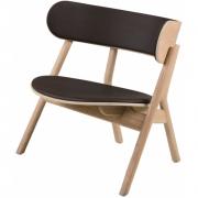 Northern - Chaise longue Oaki avec assise et dossier rembourrés