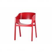TON - Merano Armlehnstuhl lackiert