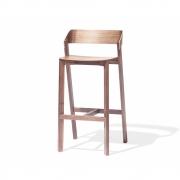Tabouret de bar en bois Merano - TON 78 cm | chêne naturel