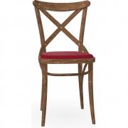 TON - 150 Stuhl Antikholz Klassik, gepolstert Kirsche