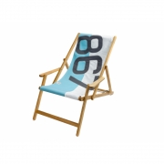727 Sailbags - Deck Chair with Armrests