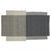 Ames - Nobsa Rug 214 x 130 cm | Grey/Grey/Cream
