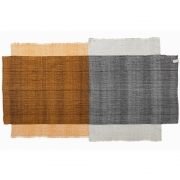 Ames - Nobsa Rug 214 x 130 cm | Grey/Ochre/Cream