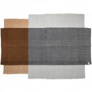 Ames - Nobsa Teppich 274 x 190 cm | Grau/Ocker/Creme