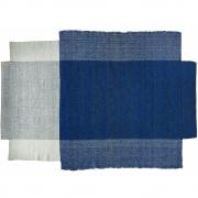 Ames - Nobsa Teppich 274 x 190 cm | Blau/Mint/Creme