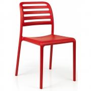 Nardi - Costa Bistrot Stuhl Rot