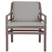 Nardi - Aria Poltrona fauteuil Tortora - Gris