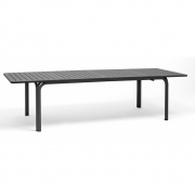 Nardi - Alloro Extendable Table 210/280 x 100 cm | Anthracite