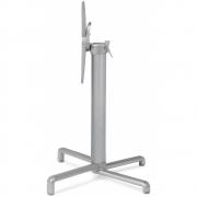 Nardi - Scudo Tischgestell Standard   Silber-Special