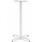 Nardi - Calice Alu Tischgestell Hoch | Weiß
