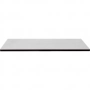 Nardi - Piano Laminato Tischplatte rechteckig 110x70 cm | Grau