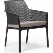 Nardi - Sitzkissen für Net Relax Stuhl Grau Sunbrella