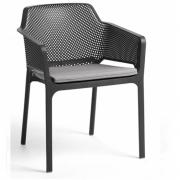 Nardi - Sitzkissen für Net Armlehnstuhl Grau Sunbrella
