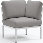 Nardi - Komodo Elemento Angolo Eckelement Weiß | Grau