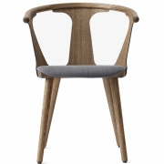 &tradition - In Between SK2 Chair with upholstered seat Fiord (171) / Oak smoked