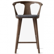 &tradition - In Between Bar Stool with upholstered seat